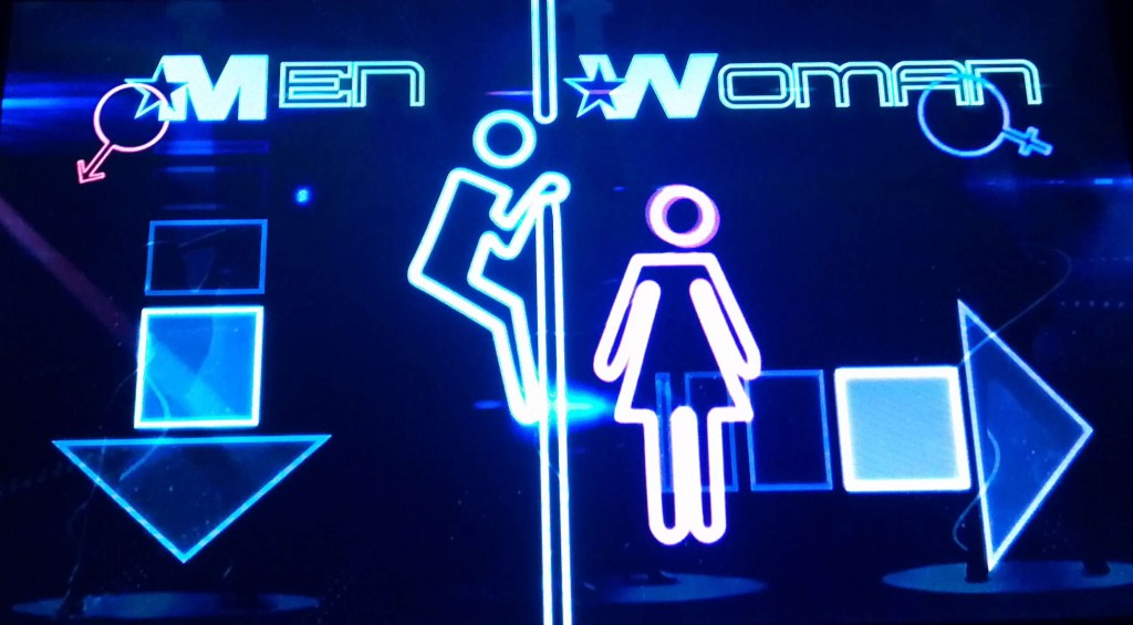 Bangkok Bathroom Sign