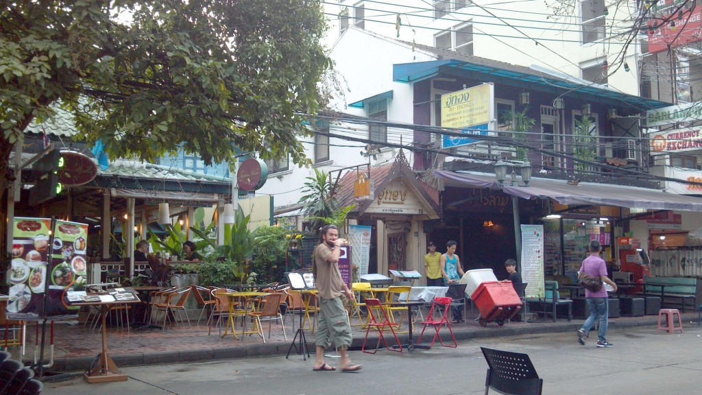 Rambuttri Road off Khao San Road Bangkok